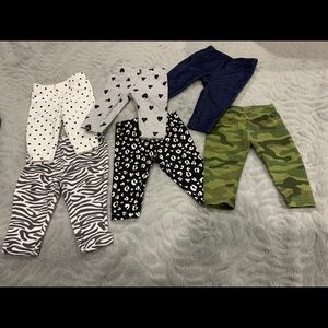 Baby girls pants size 3 months